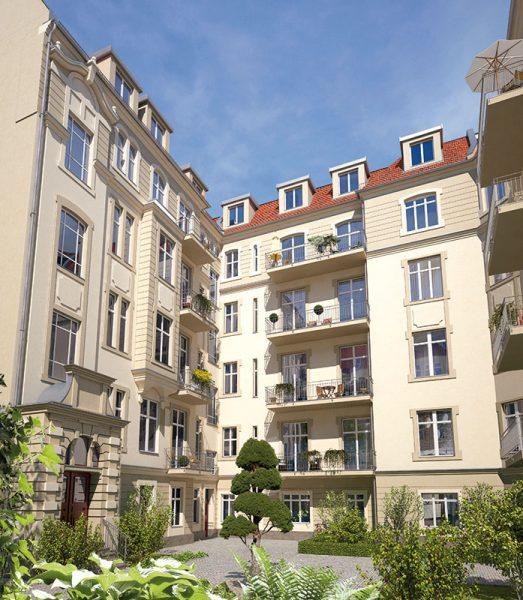 Meinekestraße Hof