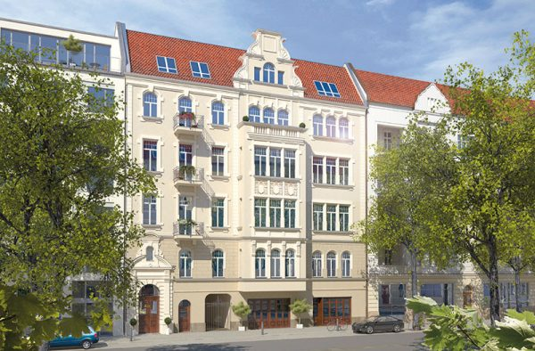 Meinekestraße Außenfassade
