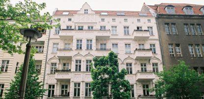 Außenfassade Bötzowstraße