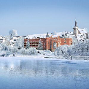 Uferpalais Wintertraum