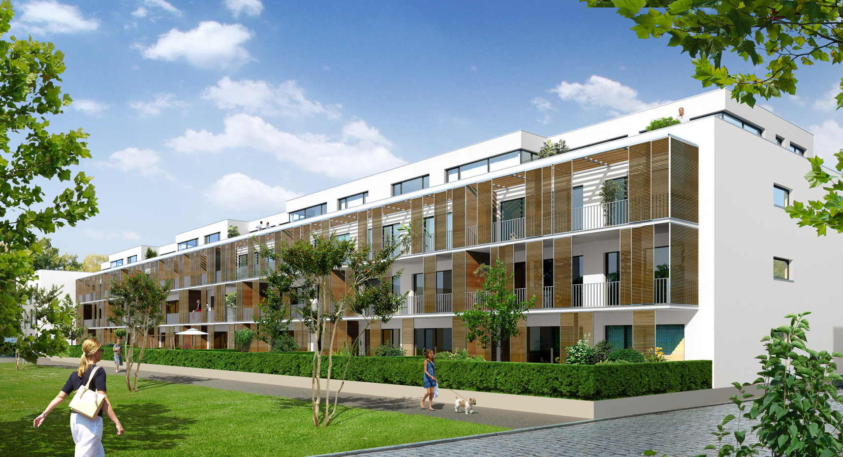 Wohnungsübergaben im Wohncarree-Witthausbusch 1