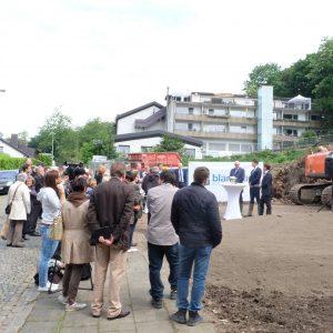 1. Spatenstich am Quartier Wilhelmshöhe