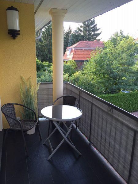 Balkon Finckensteinallee