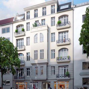 Goethestraße Wohnhaus Außenfassade