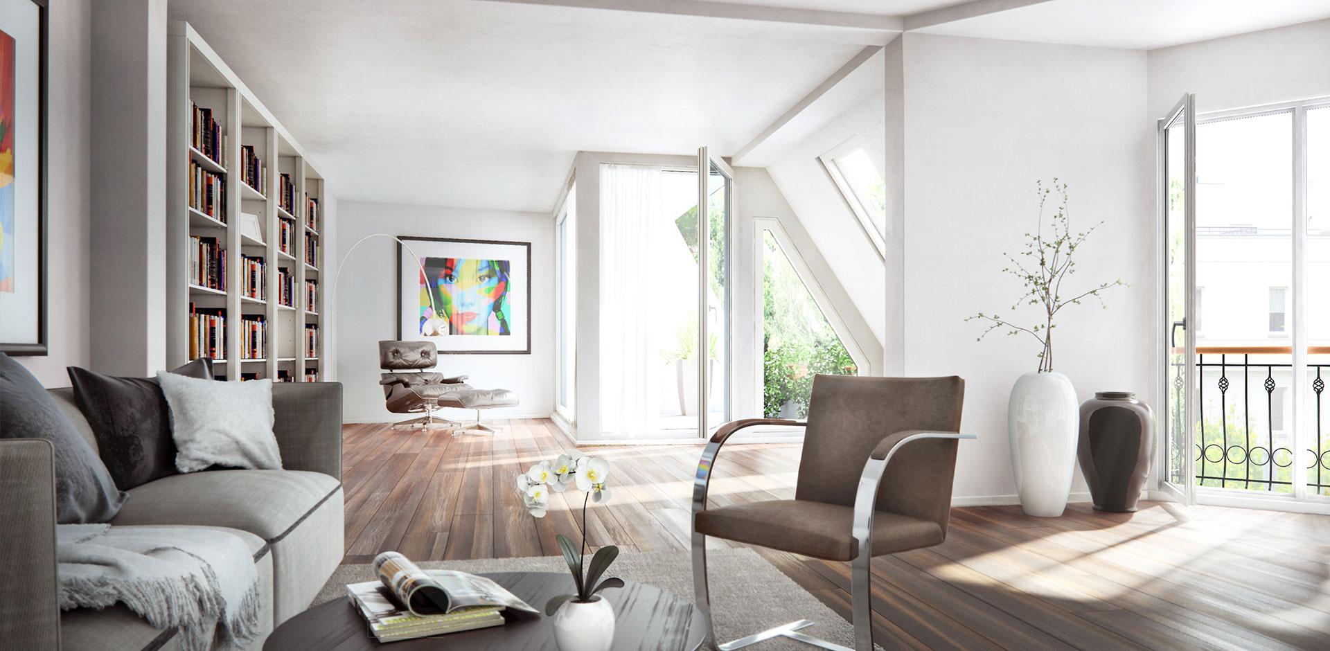 Goethestrasse Wohnzimmer