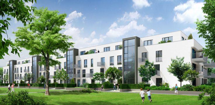 Vermietet! - Sonne pur, Wohncarree Witthausbusch - Helle 3-Zimmer-Wohnung mit 2 Bädern und großem Balkon! 10