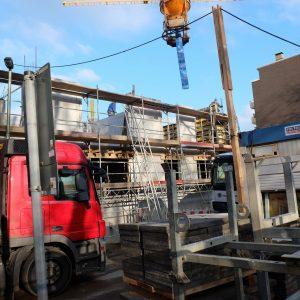 Bernsteinhaus - der Rohbau wächst! 4