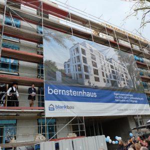 Richtfest am Bernsteinhaus! 9