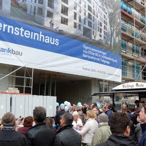 Richtfest am Bernsteinhaus! 11