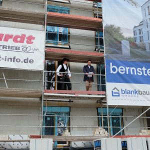 Richtfest am Bernsteinhaus! 10