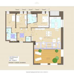 Historie trifft Moderne - Stilvolles Penthouse mit 4 Zimmern in TOP-Lage direkt am Wasser! 1