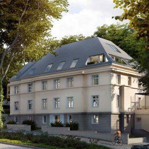 VERMIETET! - Atelier, Showroom, Büro! Arbeiten in herrschaftlicher Atmosphäre in kernsanierter Villa Henle! 4